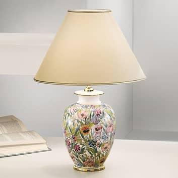 KOLARZ Giardino Panse - blommig bordslampa