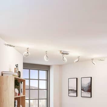 LED-Seilsystem Ratka, 5-flammig