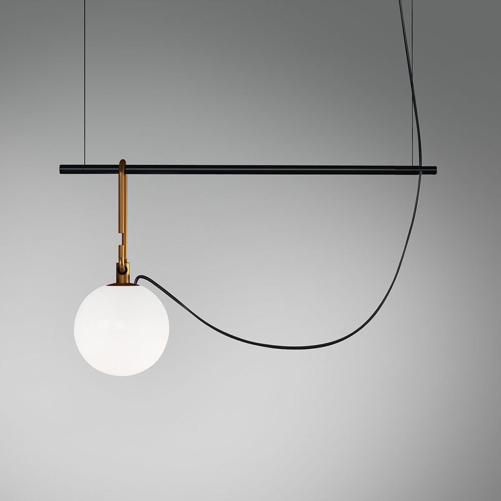 Artemide nh S1 14 lampa wisząca 55 cm kula Ø14cm