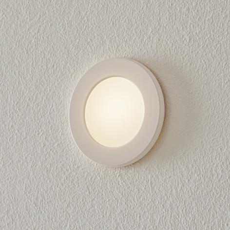BEGA Accenta spot LED rotondo con cornice