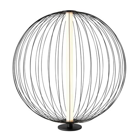 LED stolní lampa Atomic, variabilní stínidlo