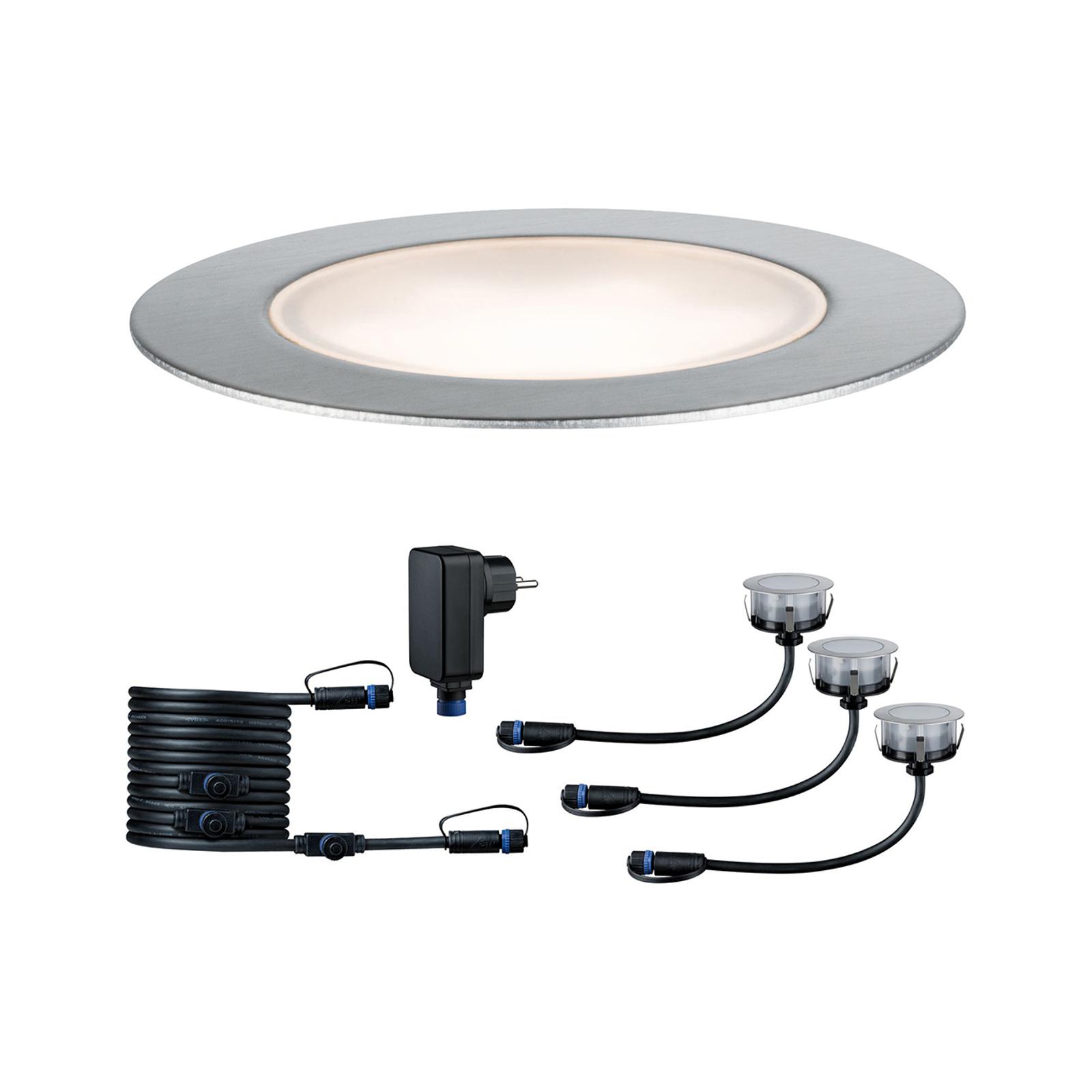 Paulmann Plug & Shine Floor Eco basissæt m.3 3000K
