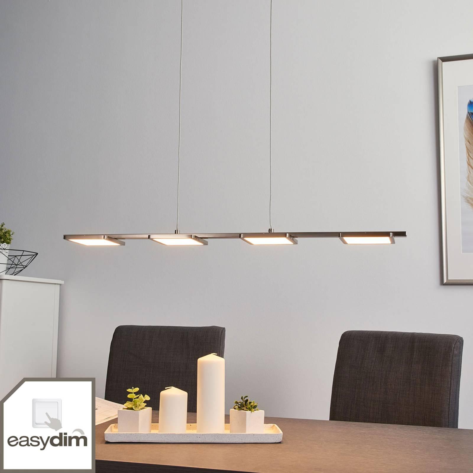 Suspension LED droite Uranus, Easydim