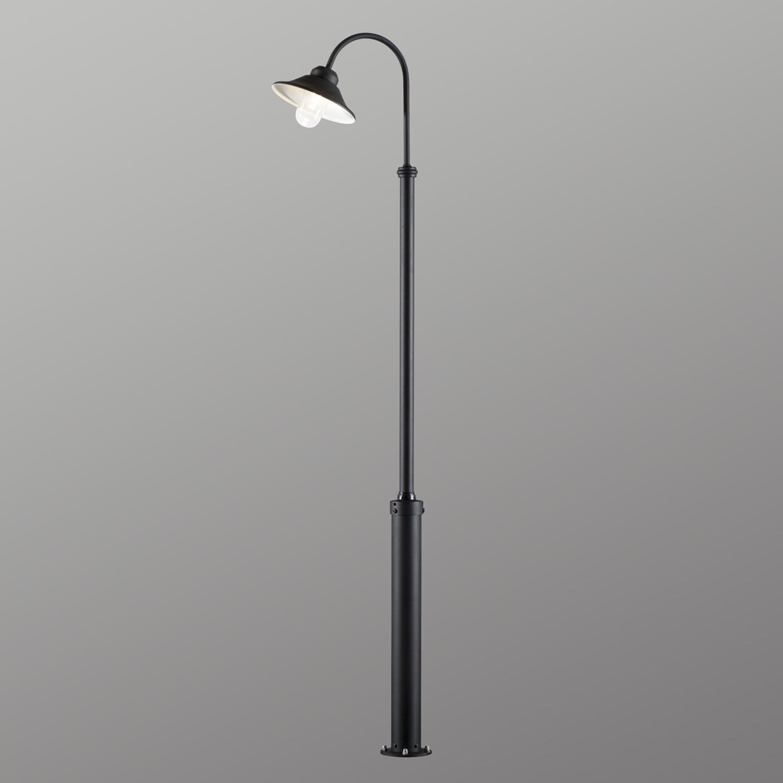 Ręcznie wykonana latarnia ogrodowa LED Vega