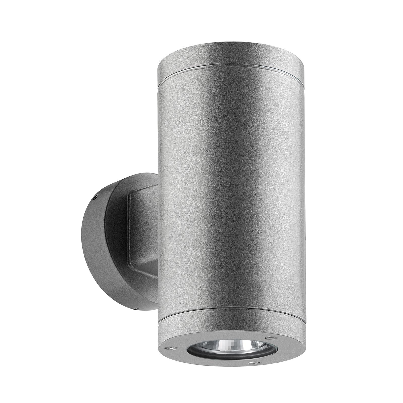 LED-Außenwandleuchte 1067 up/down, silber 54°/54°