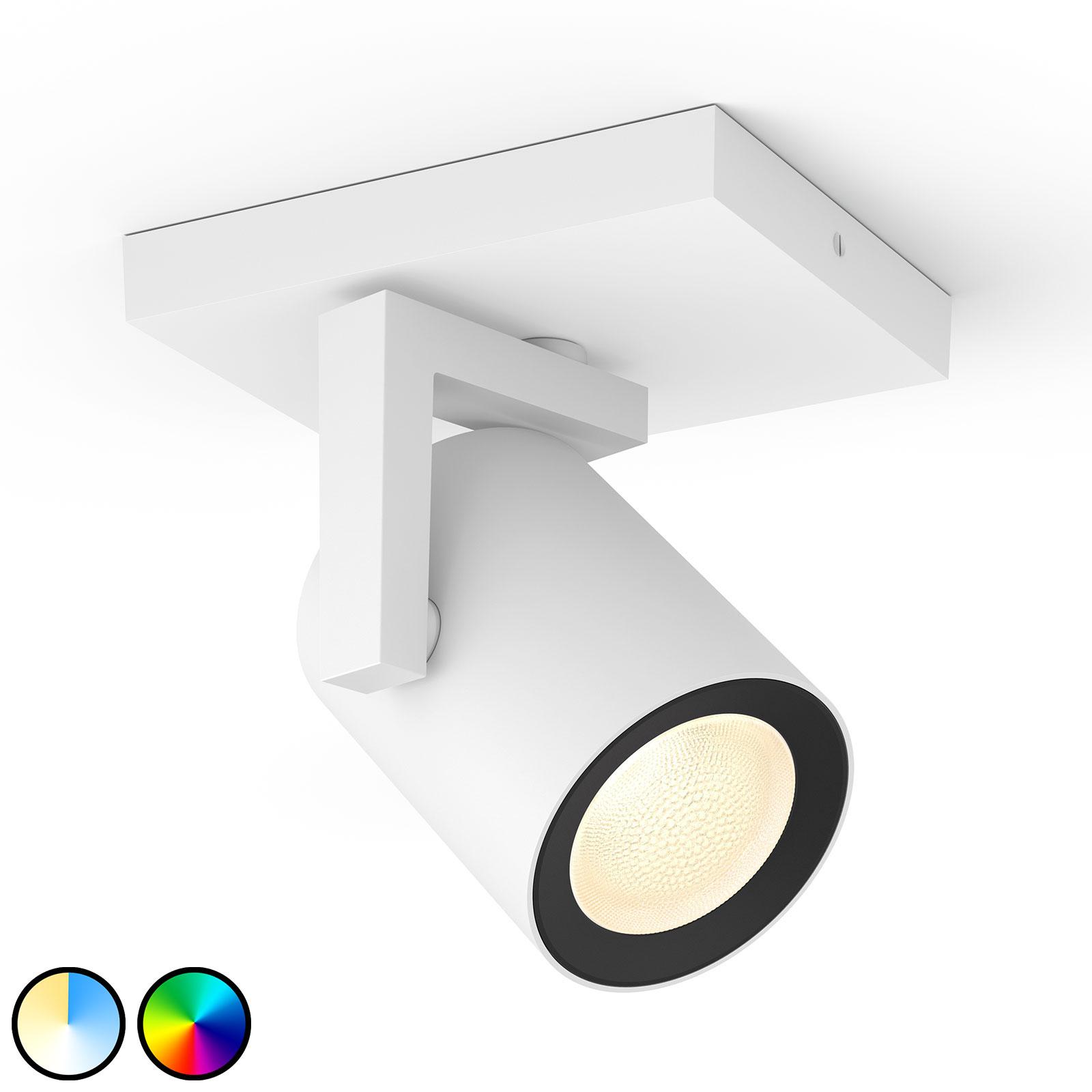 Philips Hue Argenta LED-spot, 1 lyskilde, hvid