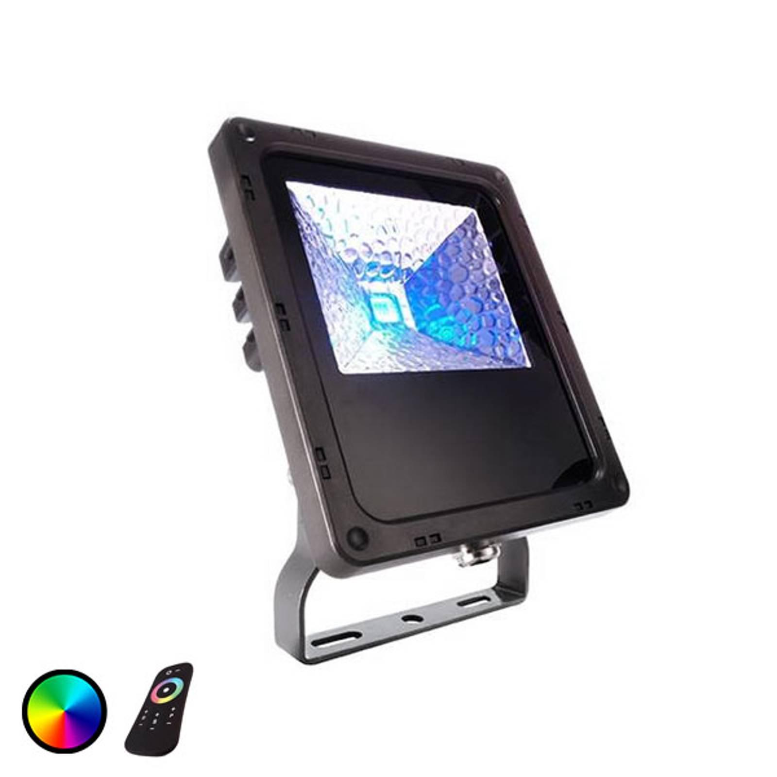 IP65 - LED-buitenspot Flood Color RF-10 - 10W