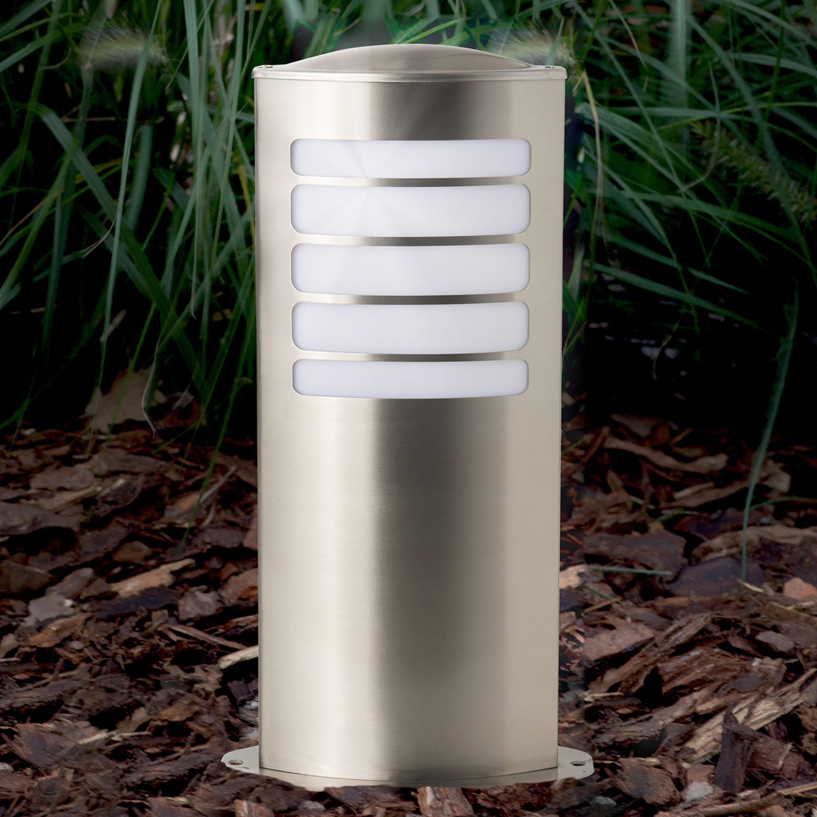 Todd oval pillar light made of stainless steel_1507251_1