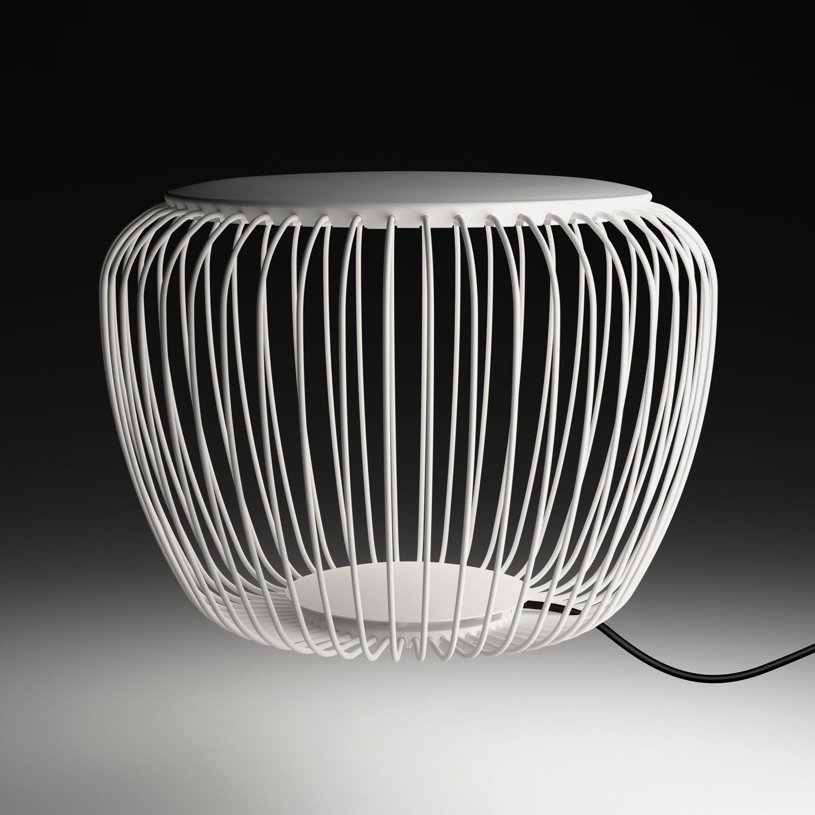 Vibia Meridiano 4710 lampe ext., Ø 64cm, crème