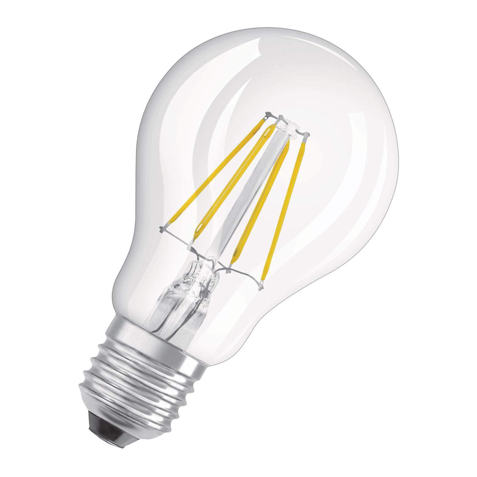 OSRAM LED-pære E27 5 W Classic Filament dim 827