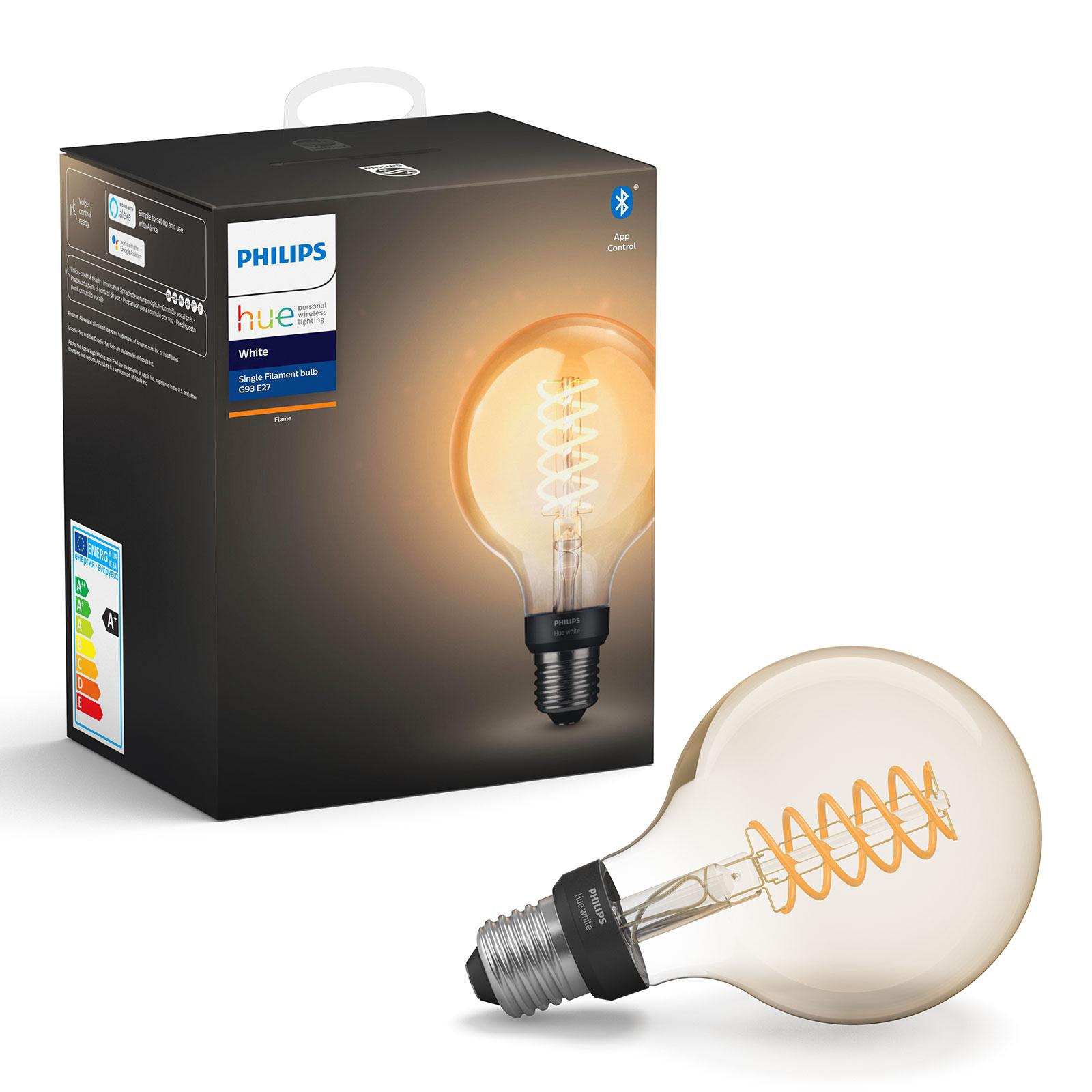 Philips Hue White 7 W E27 LED filamenti Globe G95