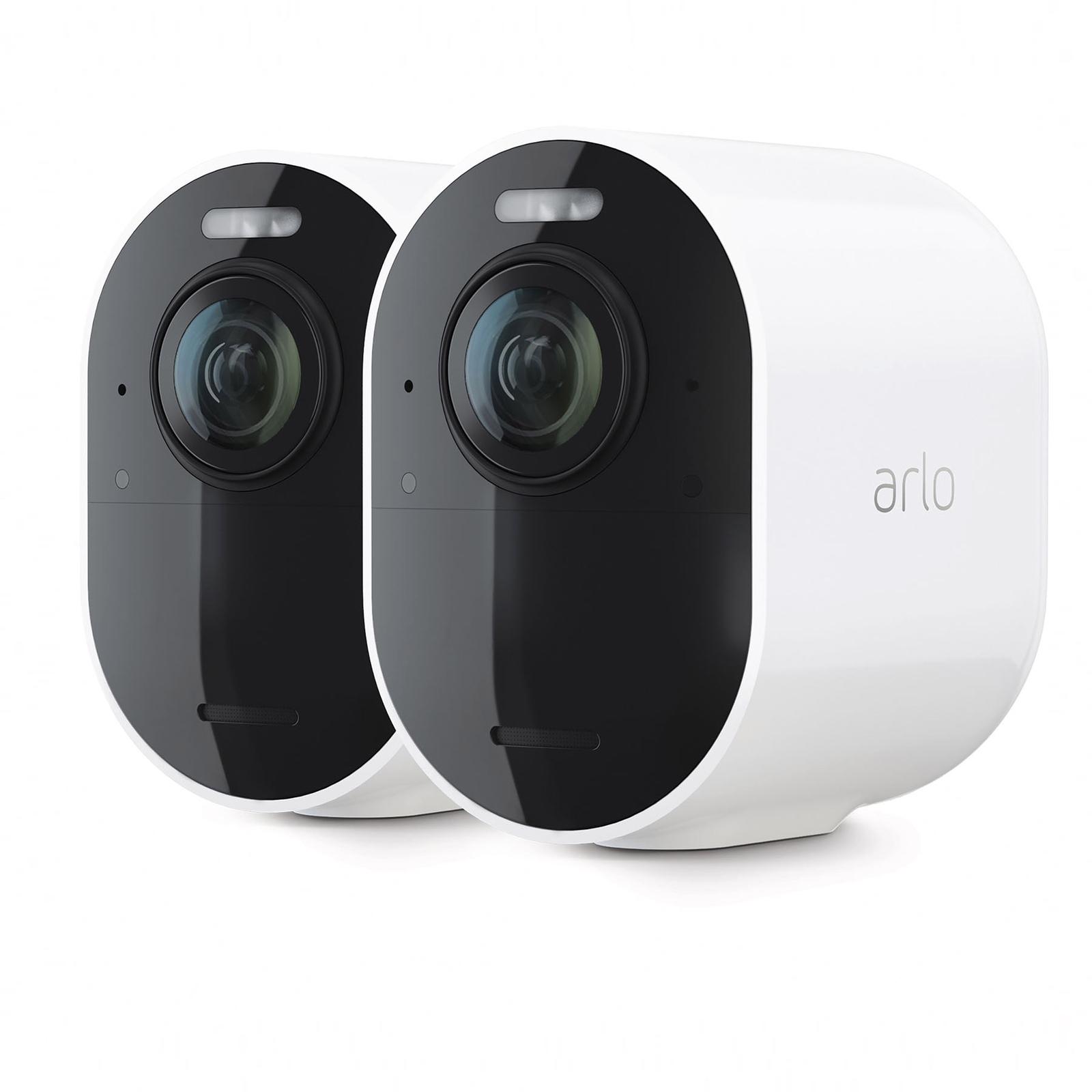 Arlo Ultra 2 Sicherheitssystem mit 2 Außenkameras