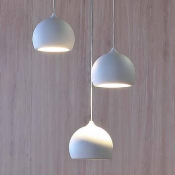 LED závěsné světlo Heze, tři zdroje