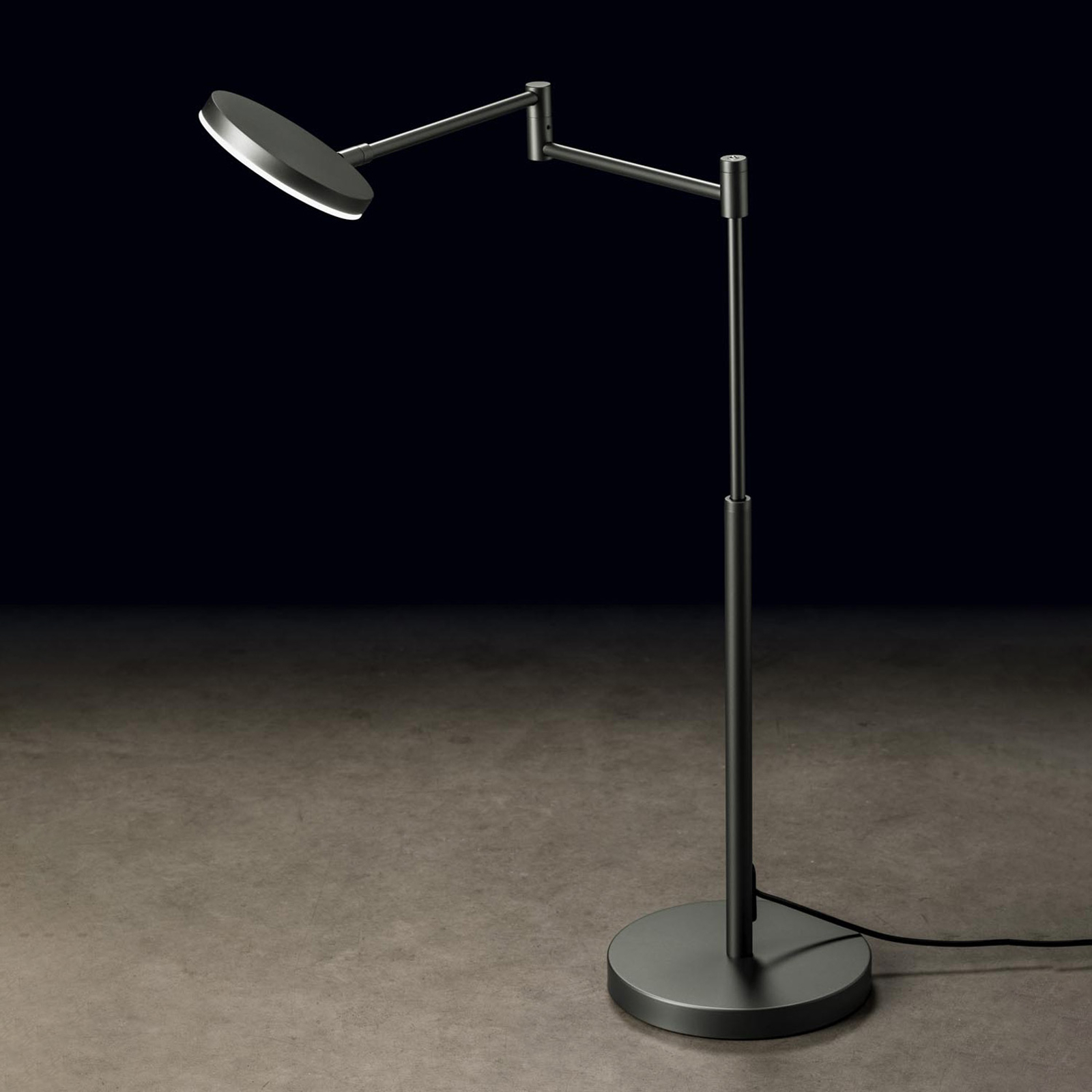 Holtkötter Plano T LED-Tischlampe platin