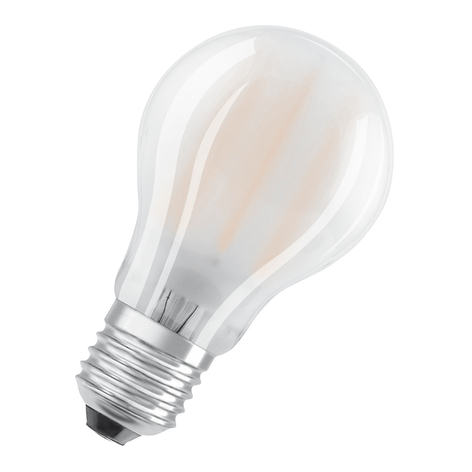 OSRAM LED-Lampe E27 Superstar 9W matt 4.000K dimmb