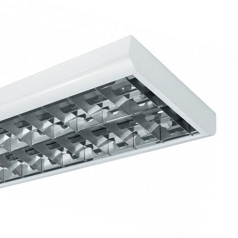 Lampara de superficie T8 BAP 58 W 2 luces