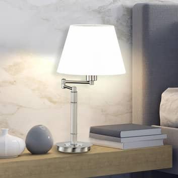 Stolní lampa Berlin chrom