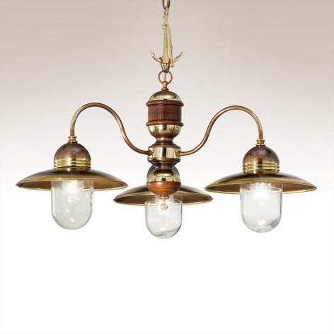 Lustre à 3 lampes Faro