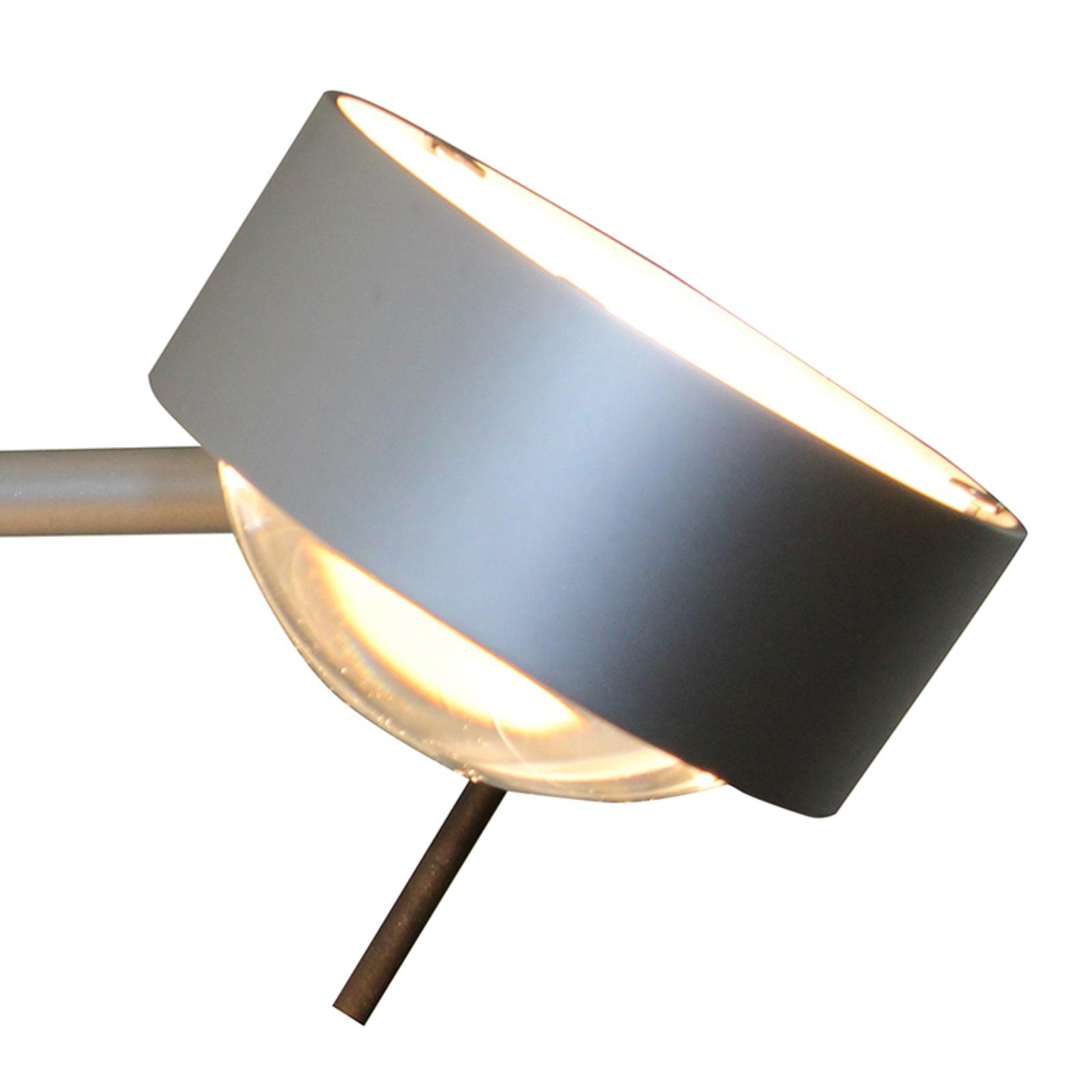 1-lichts wandlamp PUK SIDES met lens