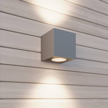 Arcchio Tassnim LED-vegglampe sølv 2 lyskilder