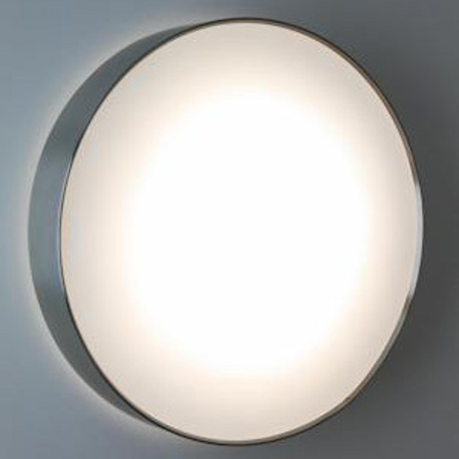 Sensor LED-lampe SUN 4 i rustfrit stål, 13W