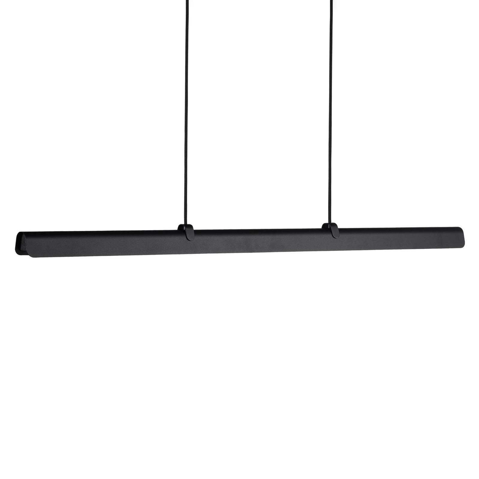 LED-Hängeleuchte Fold, dimmbar, schwarz