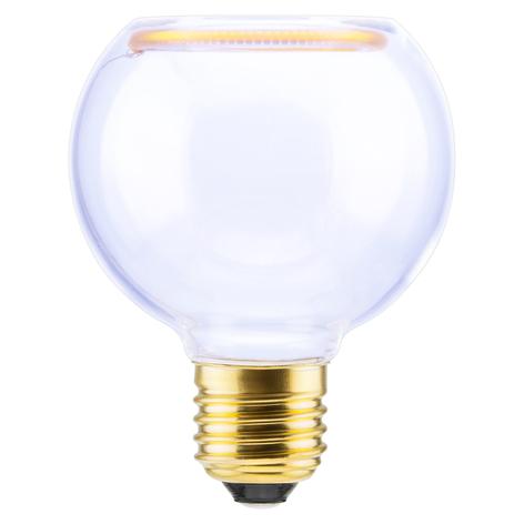 SEGULA LED globe Floating G80 E27 5W transparent