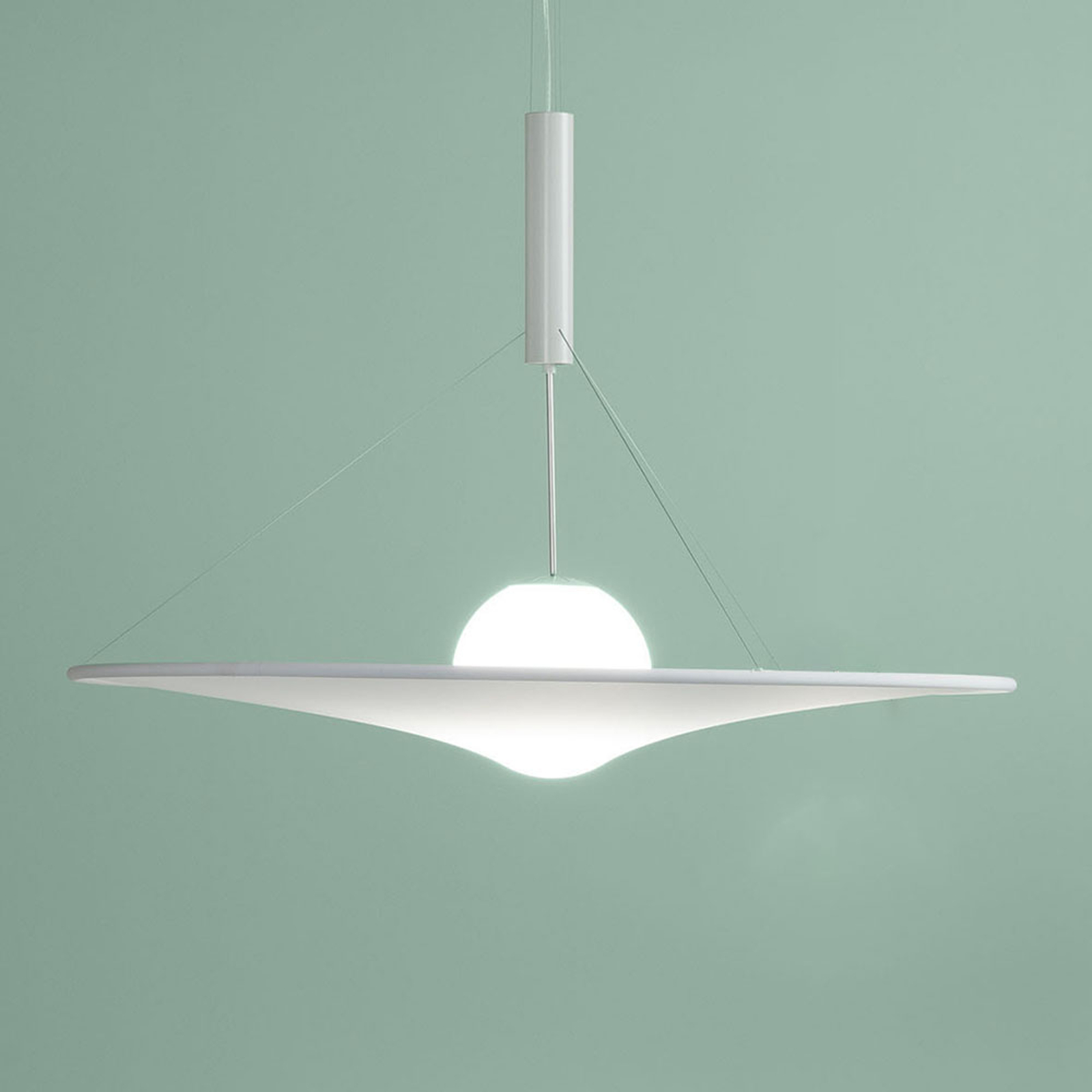 Axolight Manto LED-Designer-Pendelleuchte, Ø 180cm