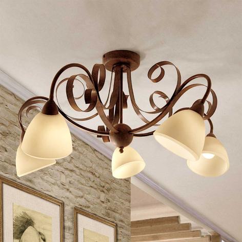 Plafondlamp Francesco, 5-lichts