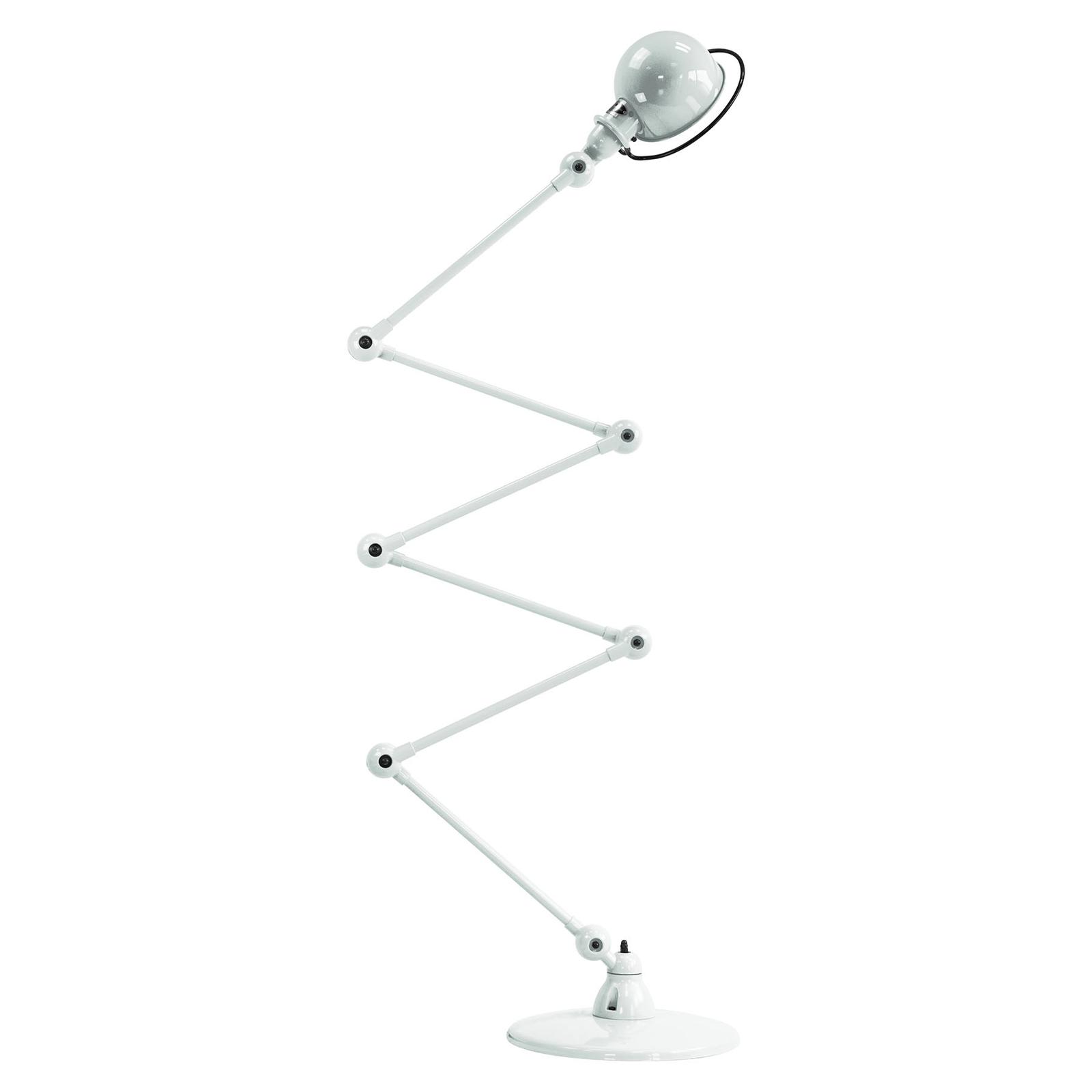 Jieldé Loft D9406 vloerlamp 6x40cm, wit