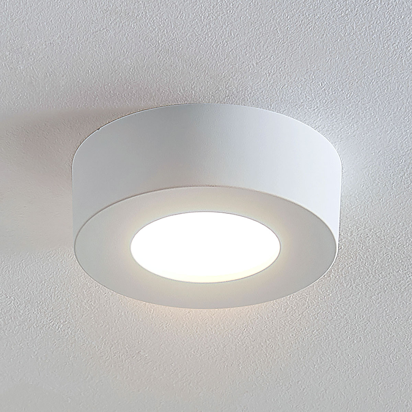 LED stropní svítidlo Marlo 3000K kulaté 12,8cm