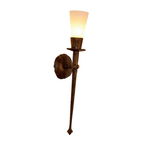 CHATEAU håndsmedet væglampe