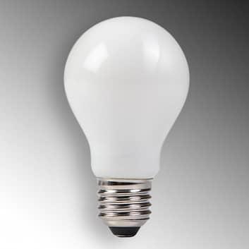 Lampadina LED forma classica 827 E27 4W satinata