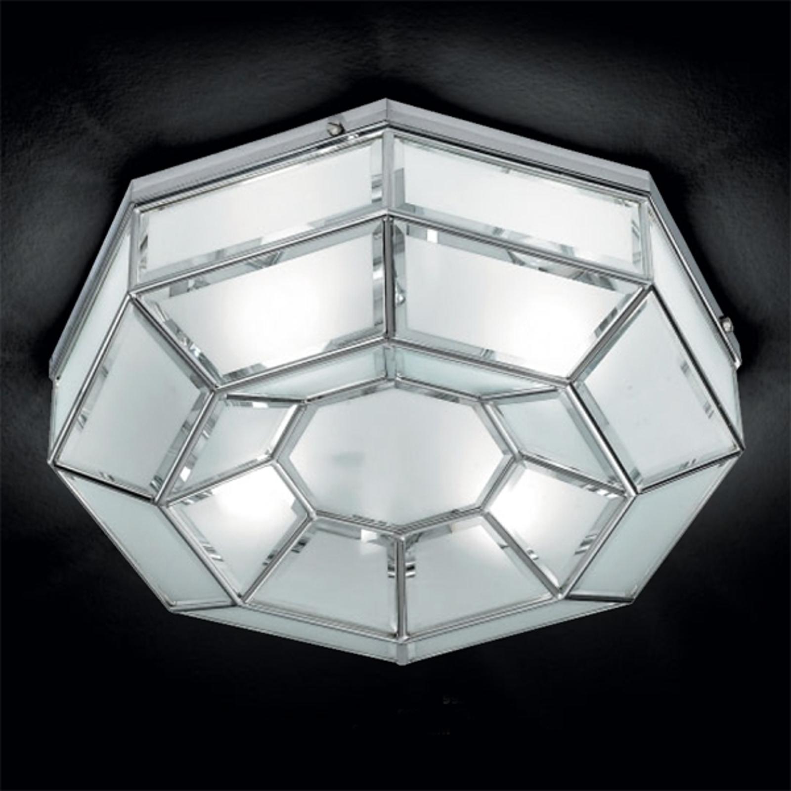 Lámpara de techo Elegance, octogonal