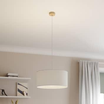 Lámpara colgante Corralee, blanco, 1 luz