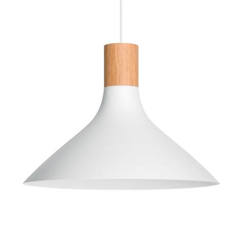 Závěsná lampa Philips s dřevěnými detaily