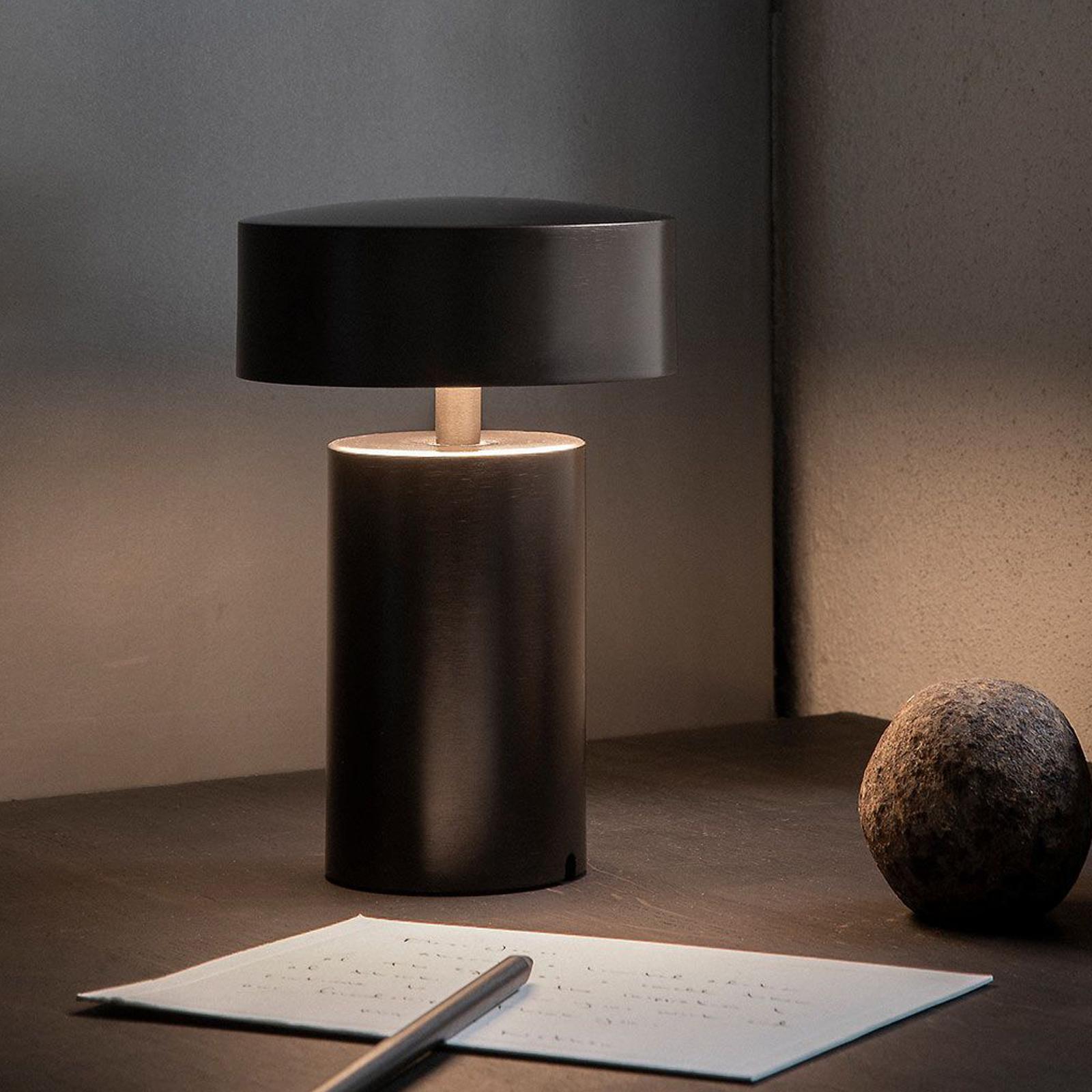 Menu Column LED-Tischleuchte mit aufladbarem Akku