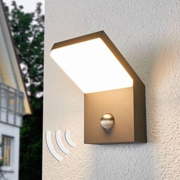 Yolena - Aplique LED para exterior con sensor