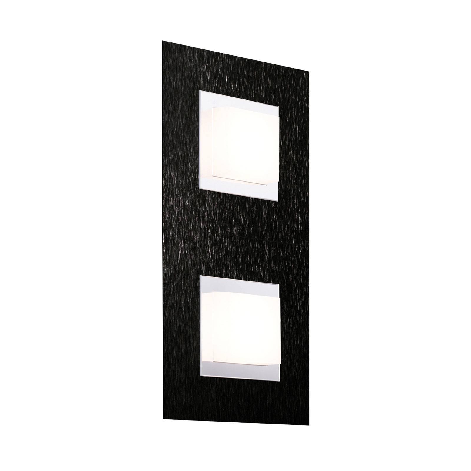 GROSSMANN Basic applique LED à 2 lampes noire