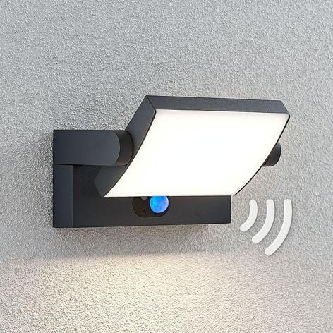 Applique da esterni solare LED Sherin con sensore