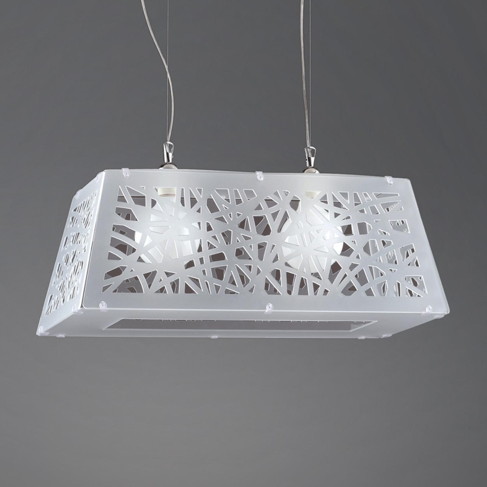 Star - moderní závěsné světlo, různé prostory,bílé