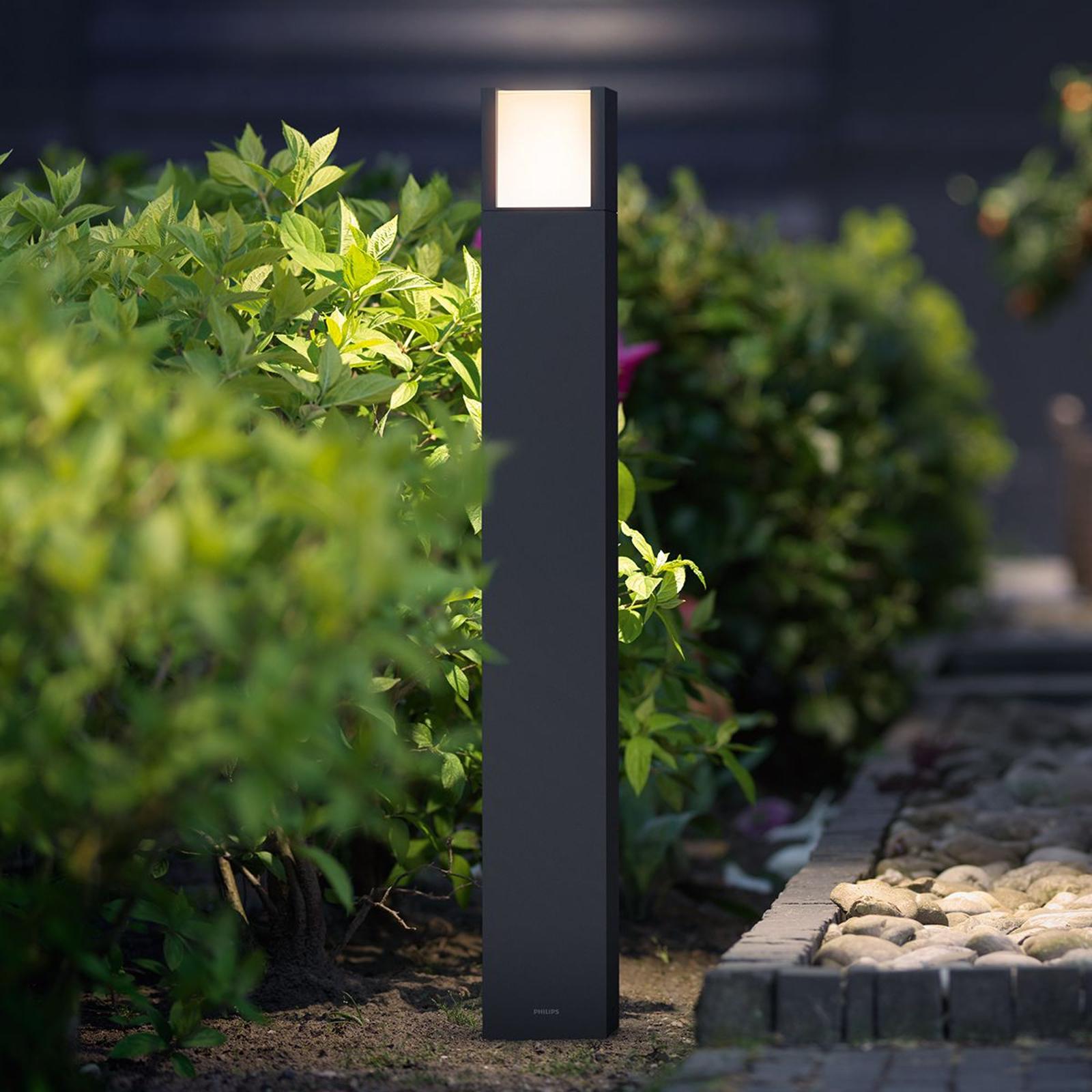 Philips Arbour lampione LED antracite IP44