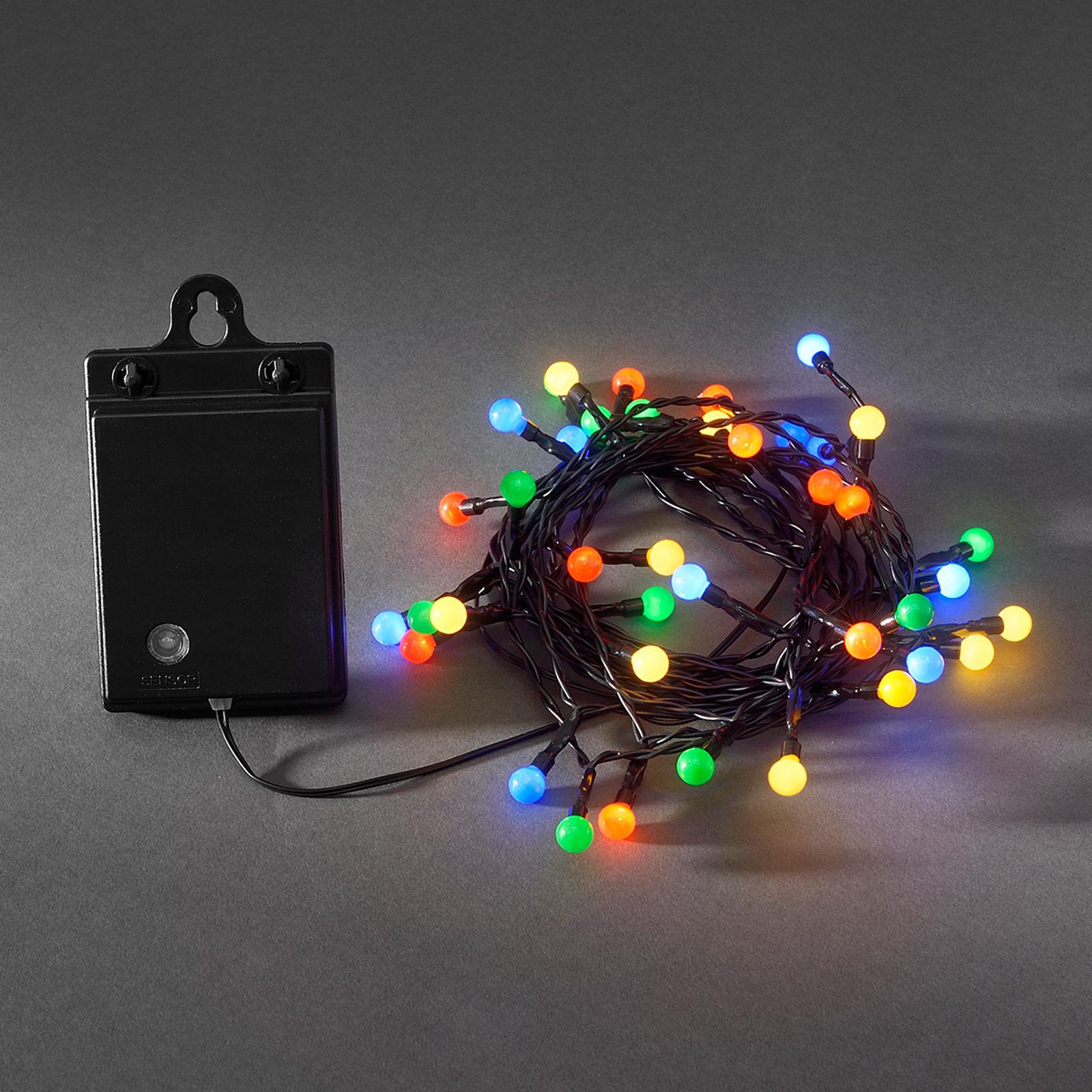 led lampen bunt mit batterien