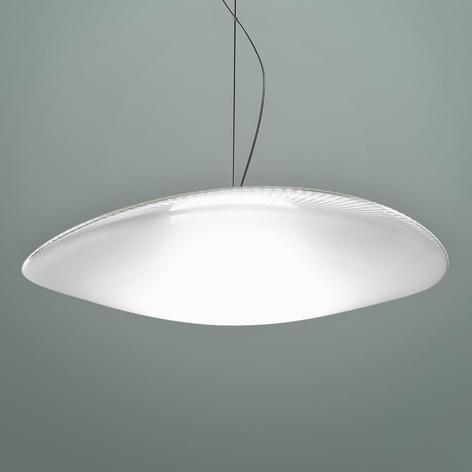 Fabbian Loop - skleněné závěsné světlo LED 3000K