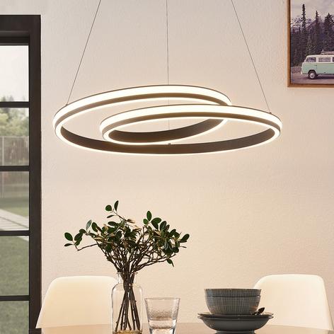 Lucande Gwydion -LED-riippuvalaisin, 80 cm