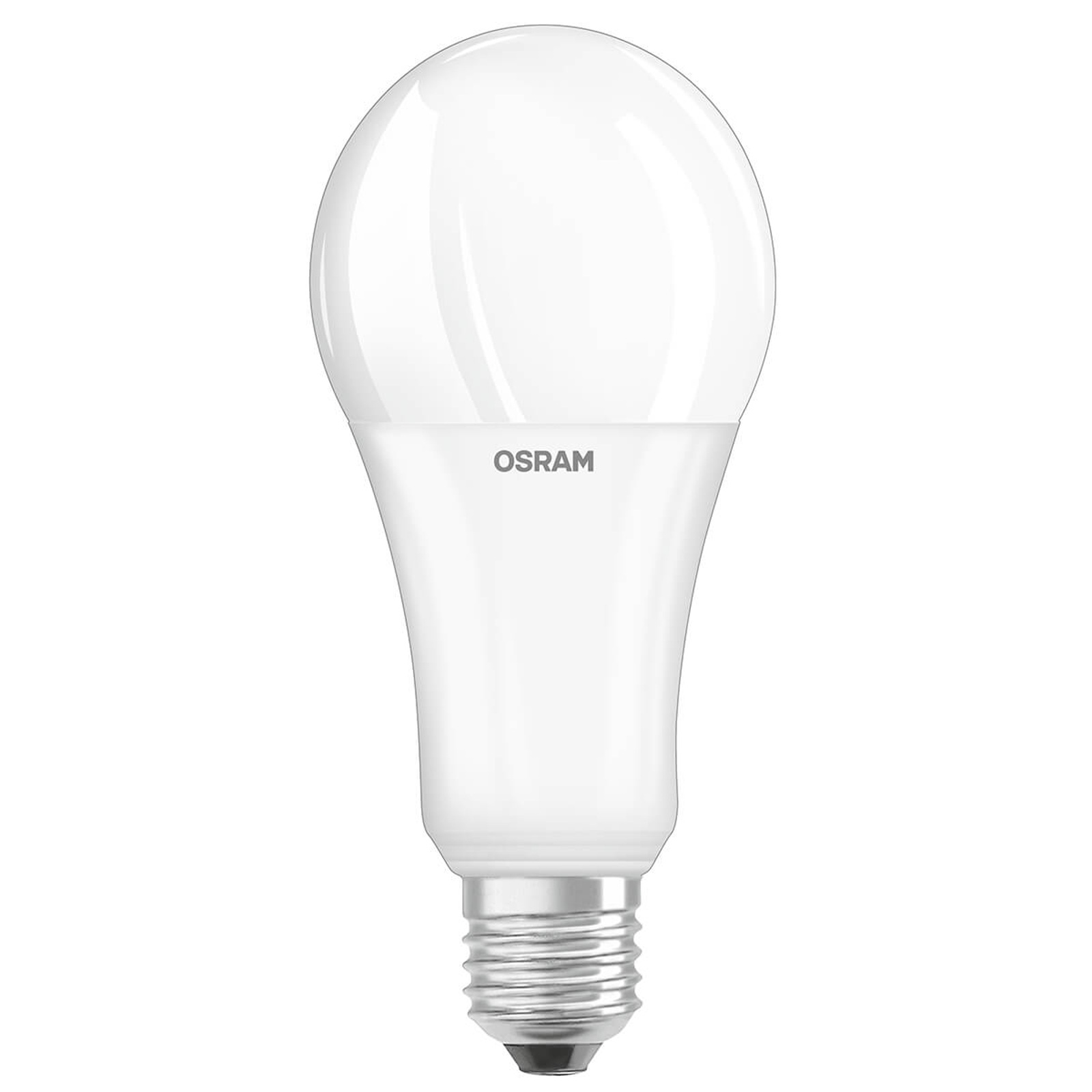 OLED-Lampe E27 21W, 2.700K, opal, dimmbar