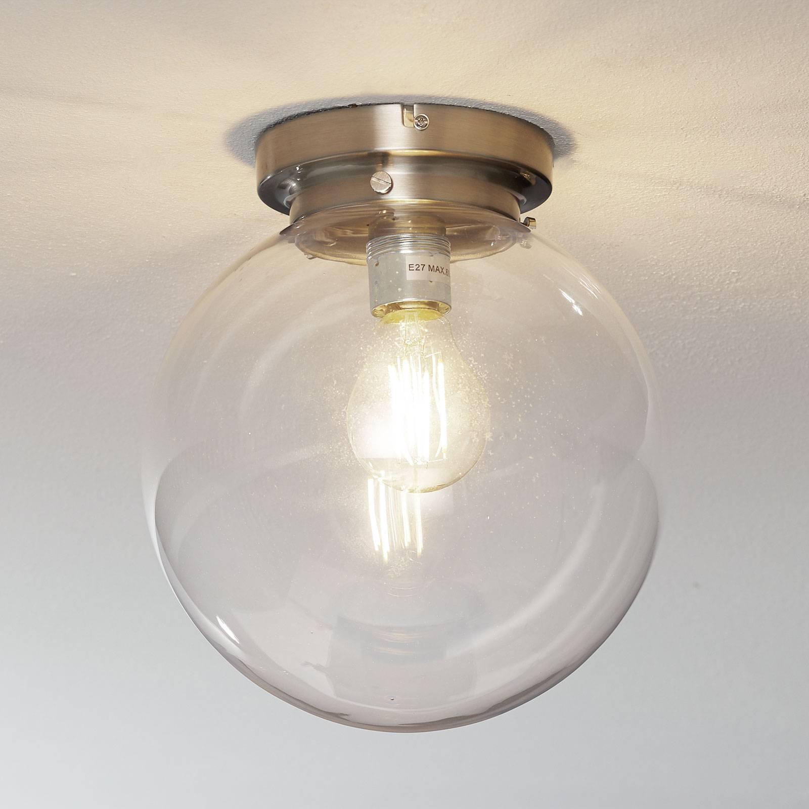 Globe - lampa sufitowa z kulistym kloszem