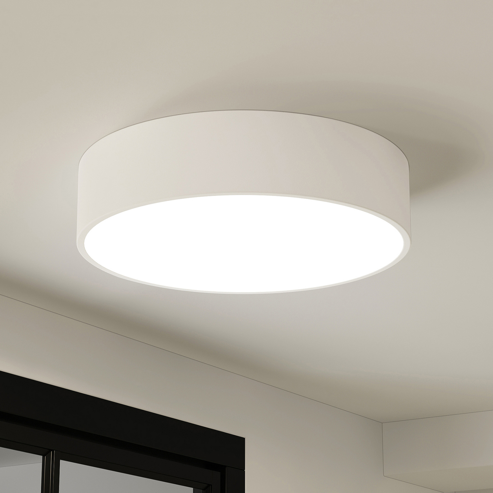 Arcchio Noabelle LED-taklampe, hvit