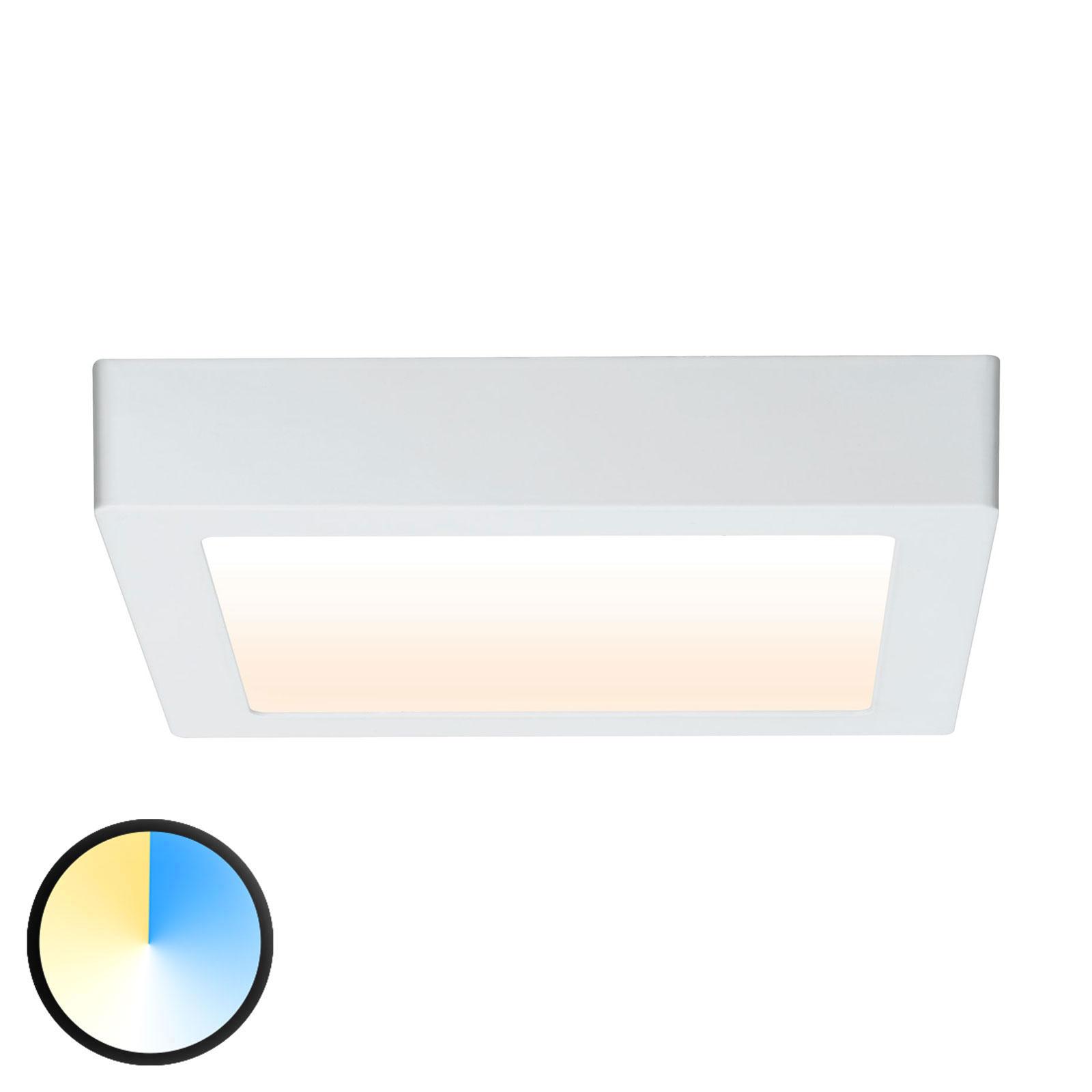 Paulmann Carpo LED plafondlamp wit 22,5x22,5cm