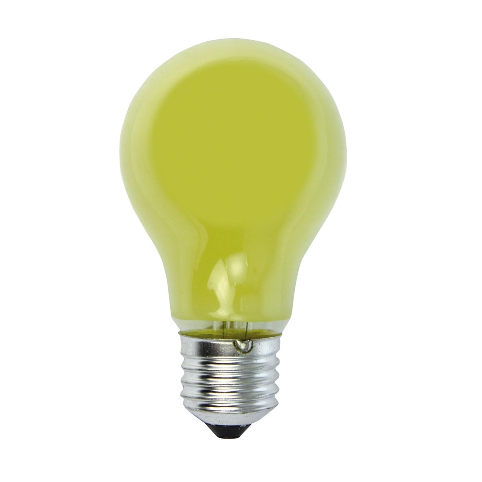 E27 25 W giallo lampadina incand. per luminaria